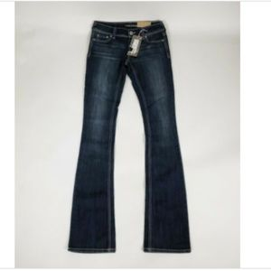 MAURICES Womens Bootcut Jeans Size 0 X-Long NEW